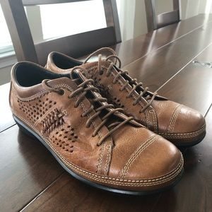 Aetrex Diana Leather Oxford Lace Shoes 6.5